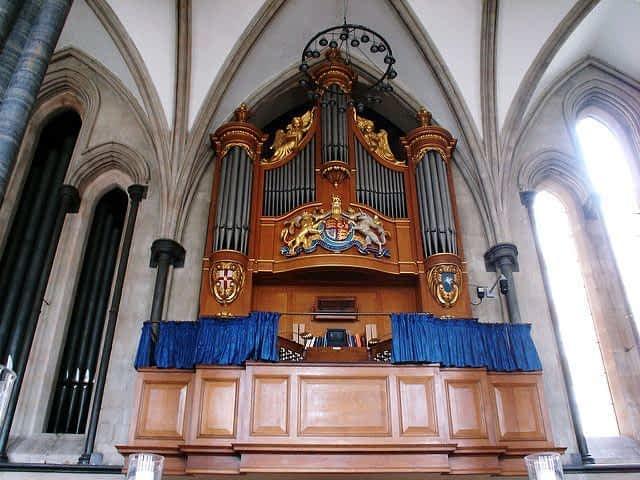 Organ The Temple Church London