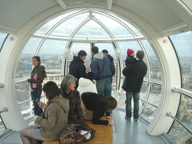 London Eye Capsule Interior
