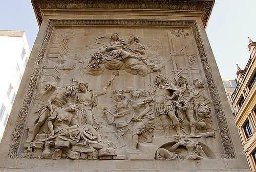 The Monument Pedestal