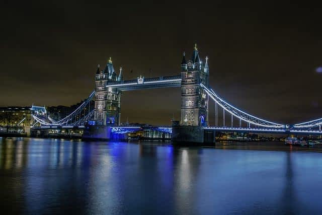 Tower Bridge London Night