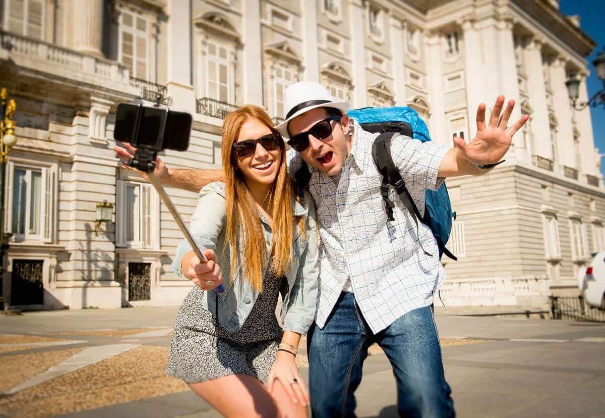 tourist Couple in Madrid