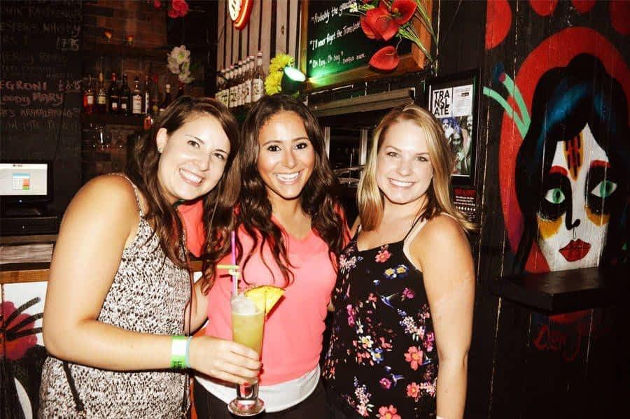 Friends at Shoreditch Bar