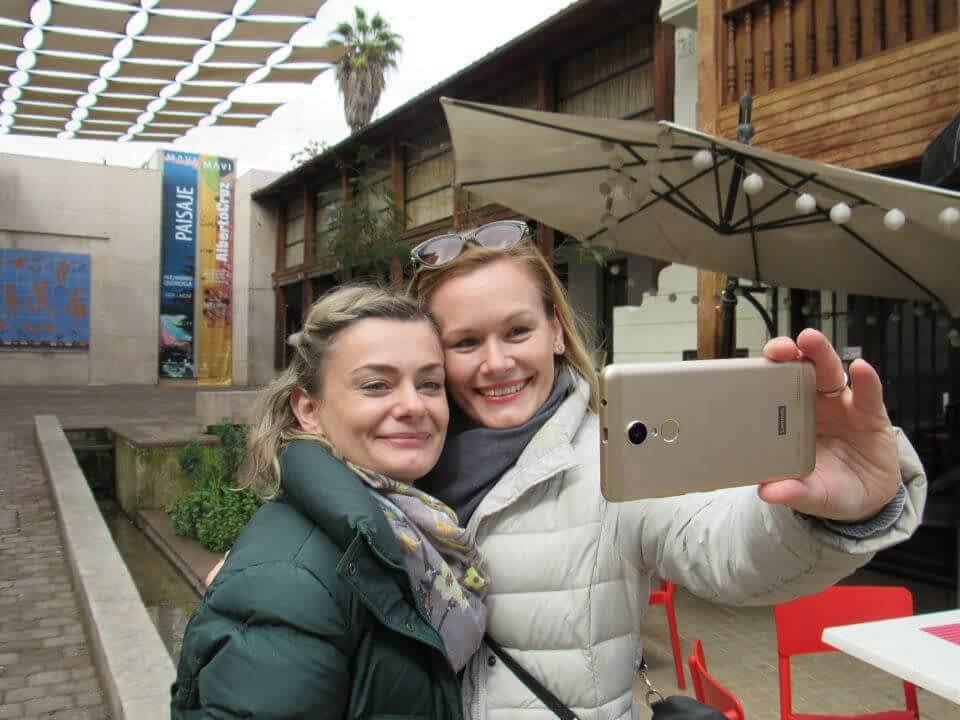 Ladies at Santaigo historical Center