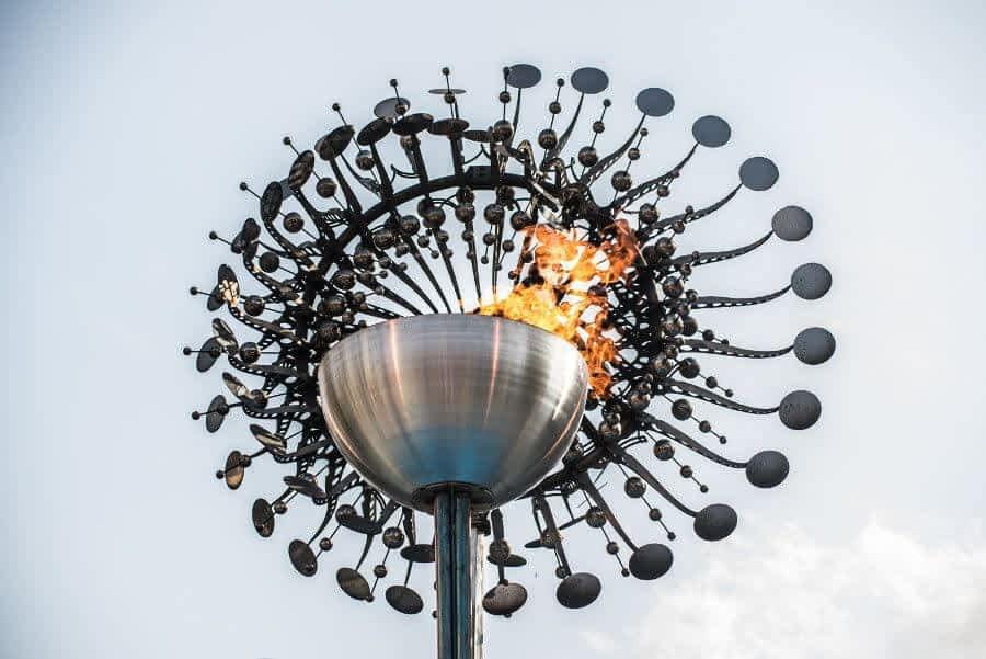 Rio de janeiro Olympic torch