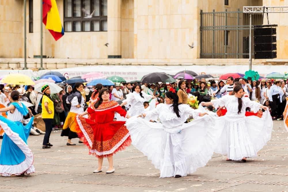 Bolivar Square Ceremony